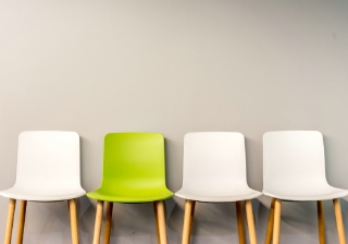 green chair hire appoint personnel new