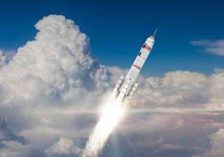 rocket launch up
