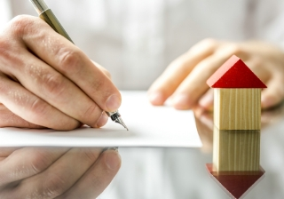 house paperwork business mortgage