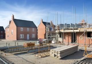 house new build development